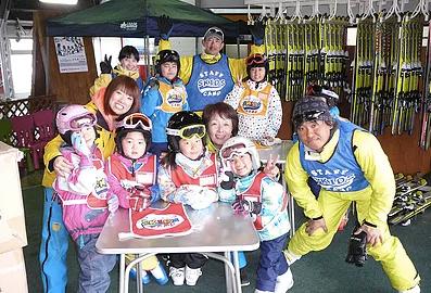 スキースクールスタッフ募集